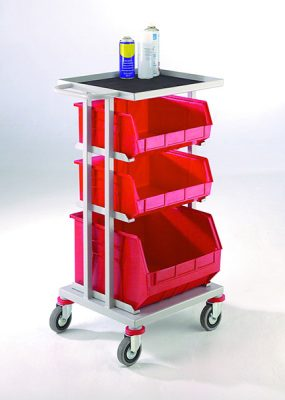 Store and Distribution Trolleys by Step and Store