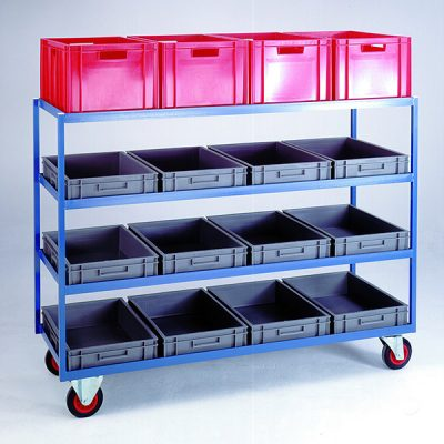 Container Shelf Trolleys by Step and Store