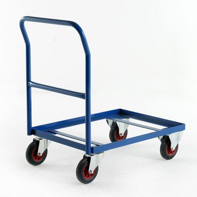 Euro Container Trolley by Step and Store