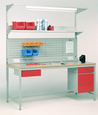 Easy Order Heavy Duty 4-leg Workbench by Step and Store