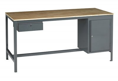 Easy Order Engineering Bench with Cupboard & Drawer by Step and Store