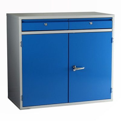 Euro Double Door/2 Drawer Unit 1000mm Wide by Step and Store