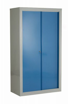 Euro Double Sliding Door Cabinet by Step and Store