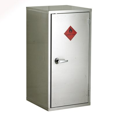 Stainless Steel Hazardous Cabinet by Step and Store
