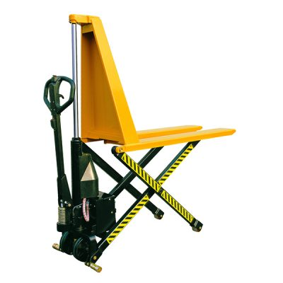 Electric High Lift Pallet Truck 1500kgs by Step and Store