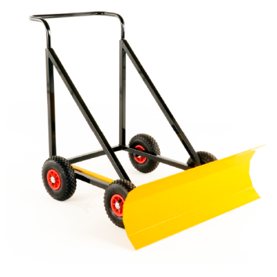 Yellow hand snow plough HSP-4-1-600x600