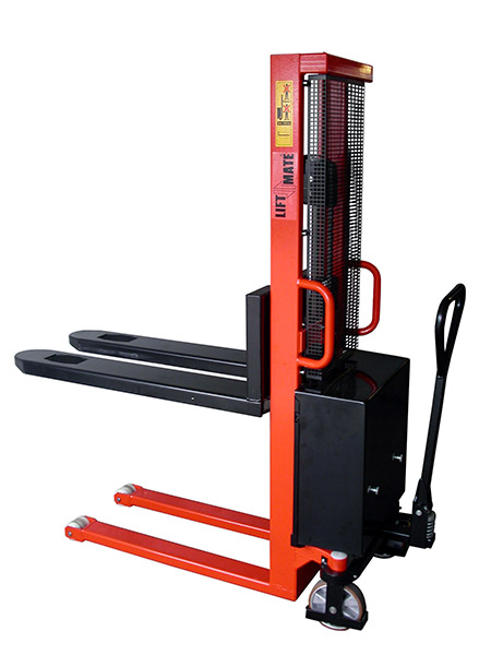 1000kgs Electric Stacker by Step and Store