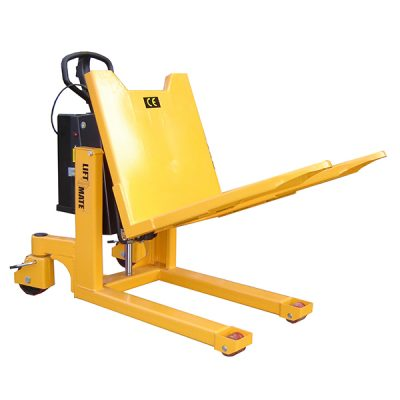 Electric Pallet Tilter by Step and Store