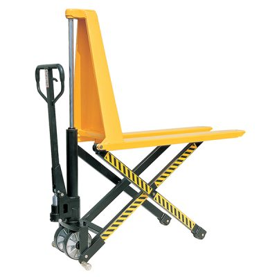 Manual High Lift Pallet Truck 1000kgs by Step and Store