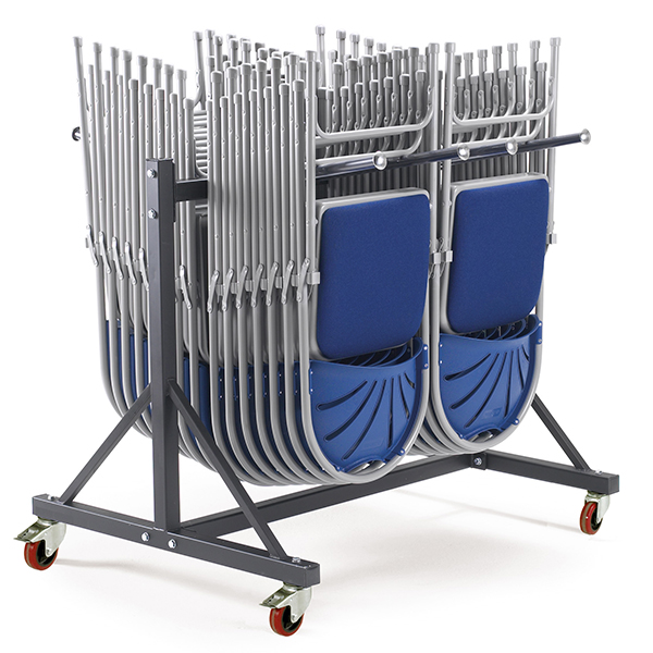 Hanging Chair Storage Trolley by Step and Store