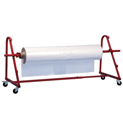 Mobile Shrink Roll Dispenser & Film by Step and Store