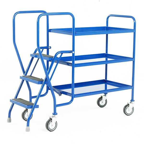 Step Tray Trolley 3 Step by Step and Store Ltd