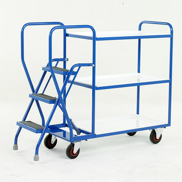 STEP TRAY TROLLEYS