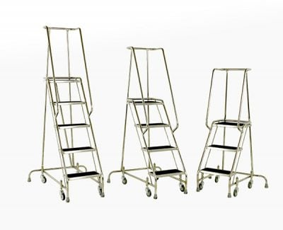 Stainless Steel Steps 3, 4 and 5 tread by Step and Store