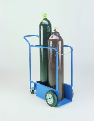 Tandem Cylinder Trolley by Step and Store