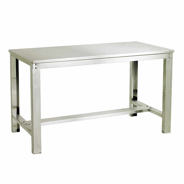 Heavy Duty Stainless Steel Workbench by Step and Store