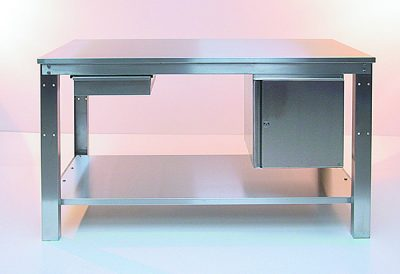 Easy Order Heavy Duty Stainless Steel Workbench by Step and Store