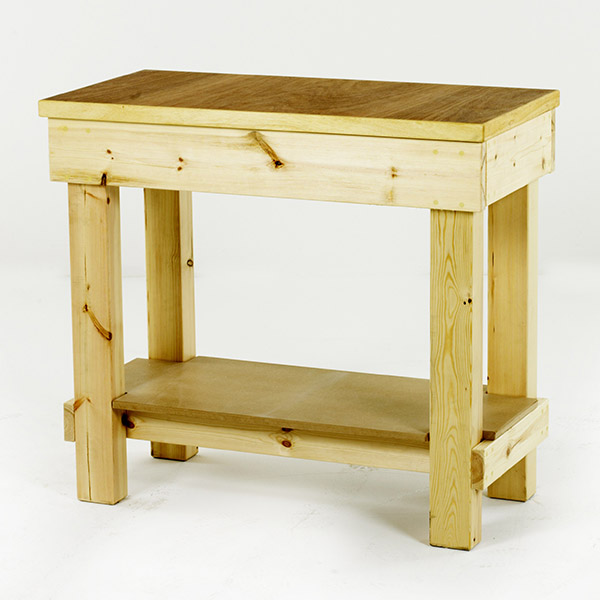 Step and Store Timber Workbench
