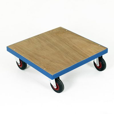 Square Plywood Dolly by Step and Store