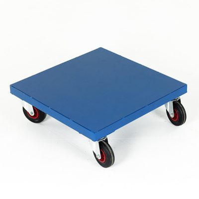 Square Sheet Steel Dolly by Step and Store