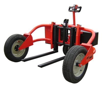 Electric Rough Terrain Pallet Truck 1200kgs Capacity by Step and Store