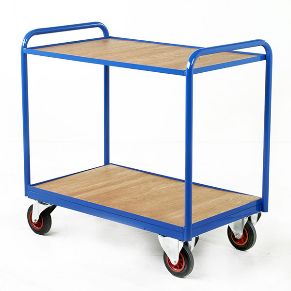 Industrial Tray Trolleys by Step and Store