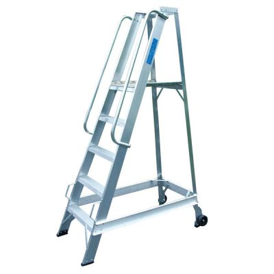 Aluminium Warehouse Steps online at Step and Store