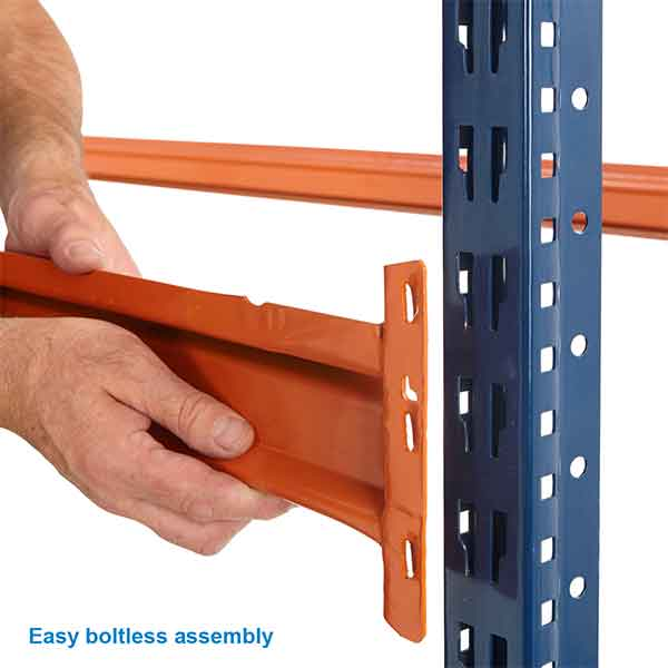 Bulk Storage Longspan Racking Level by Step and Store
