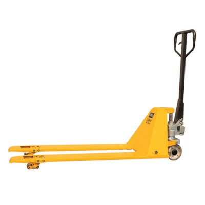 Extra Low Profile Pallet Truck by Step and Store