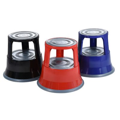 Red, blue and black Steel Kick Steps