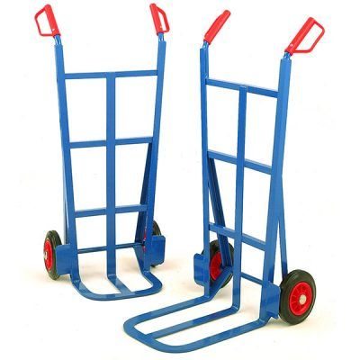 Traditional Splay Back Sack Truck by Step and Store