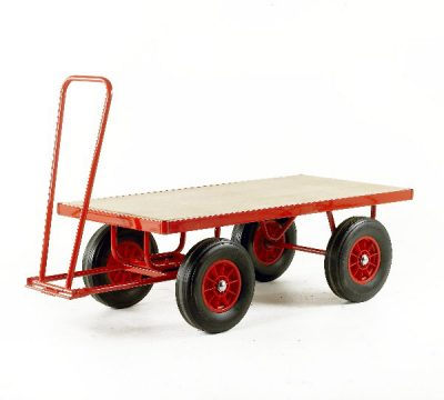 Trader Truck Hand Turntable Trailers by Step and Store