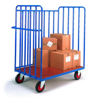 Warehouse Parcel Truck by Step and Store